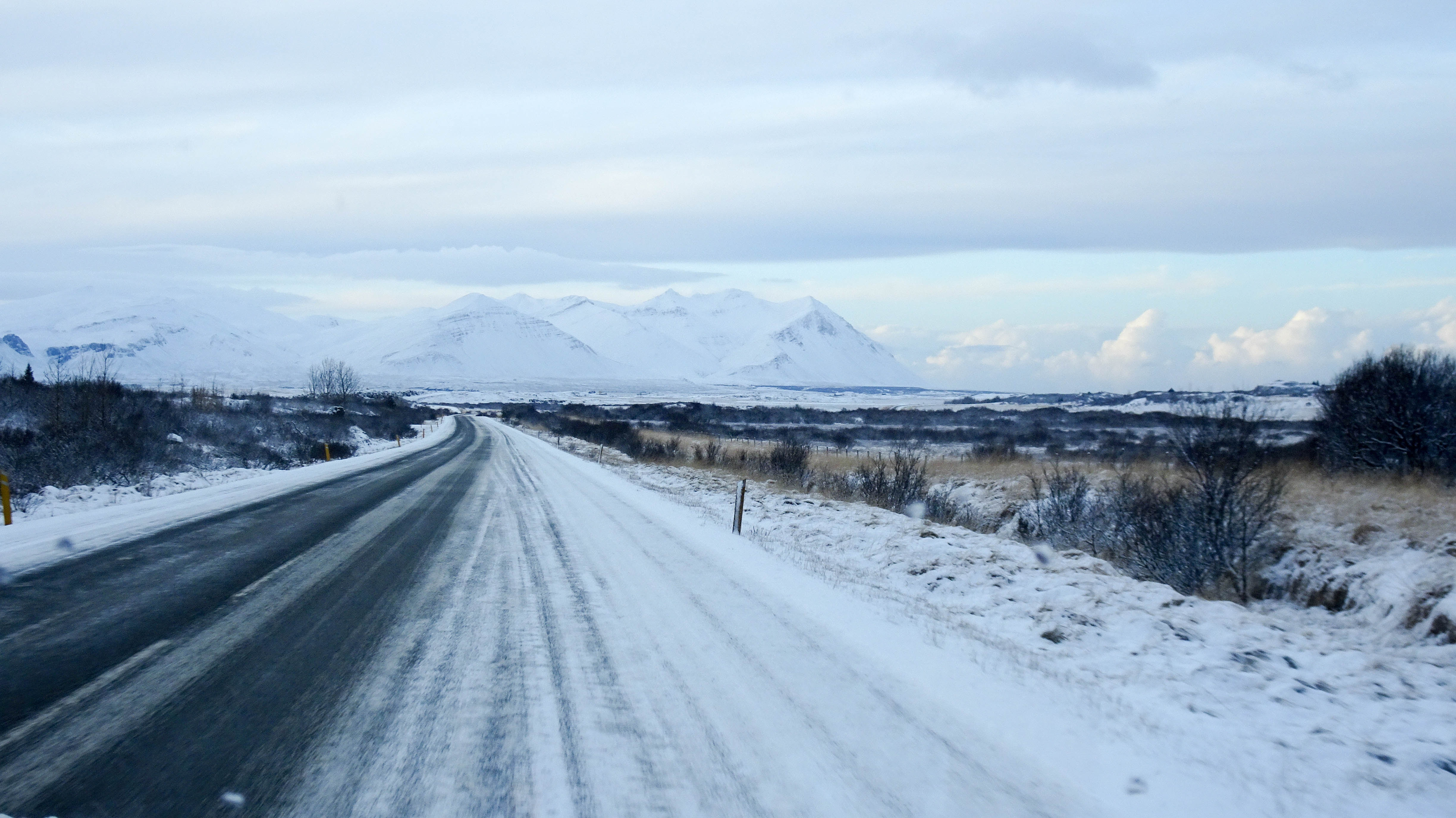 Winter Road Trips for the Win landscape