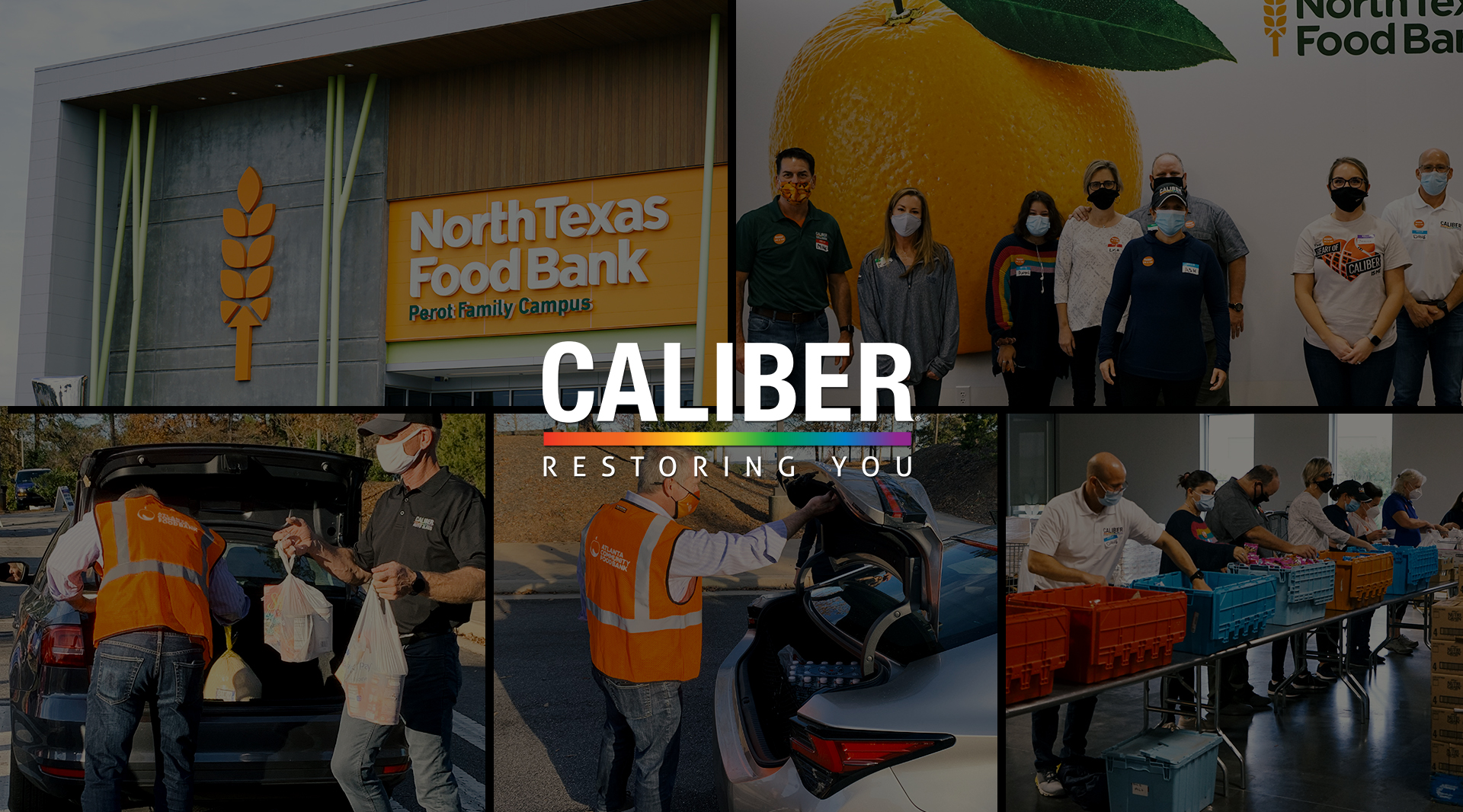 Restoring You: Caliber's Ninth Annual Food Drive Raises More Than 1.6 Million Meals landscape