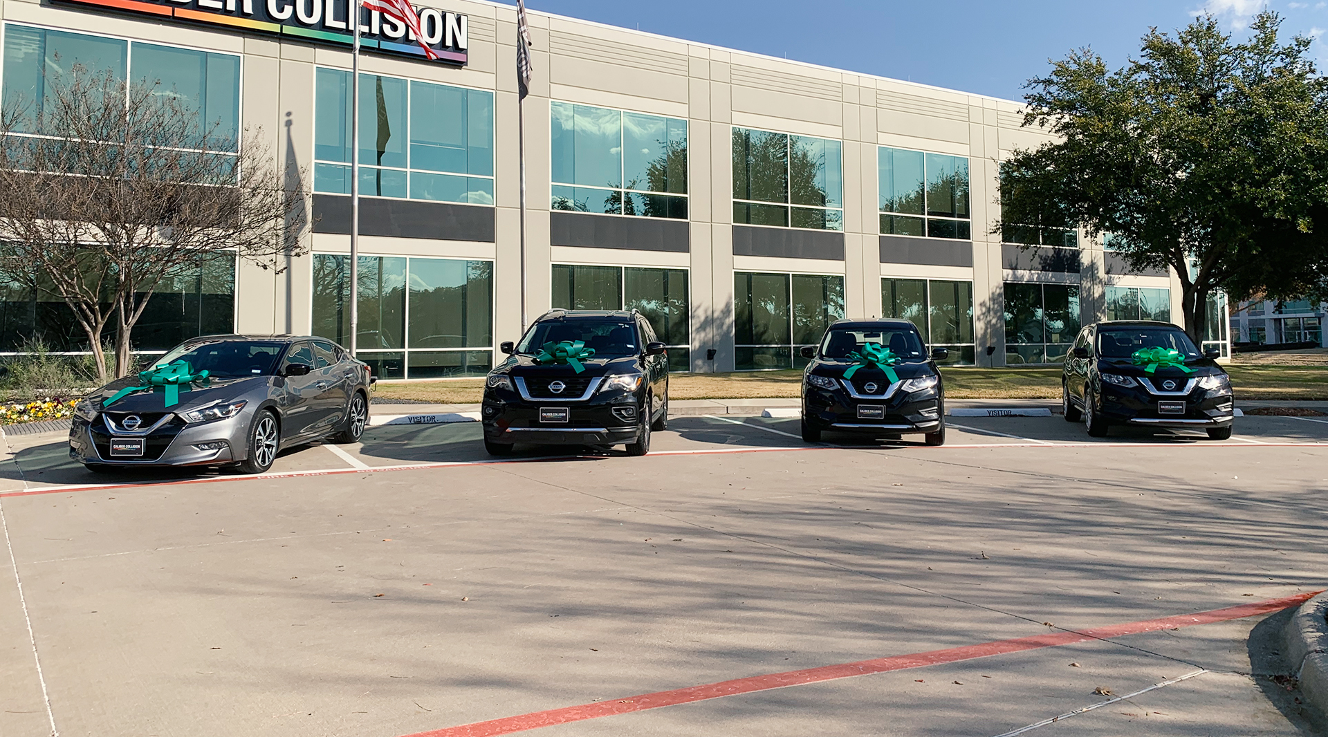 Caliber Gives Back: Four Dallas Frontline Heroes Receive the Gift of Reliable Transportation landscape