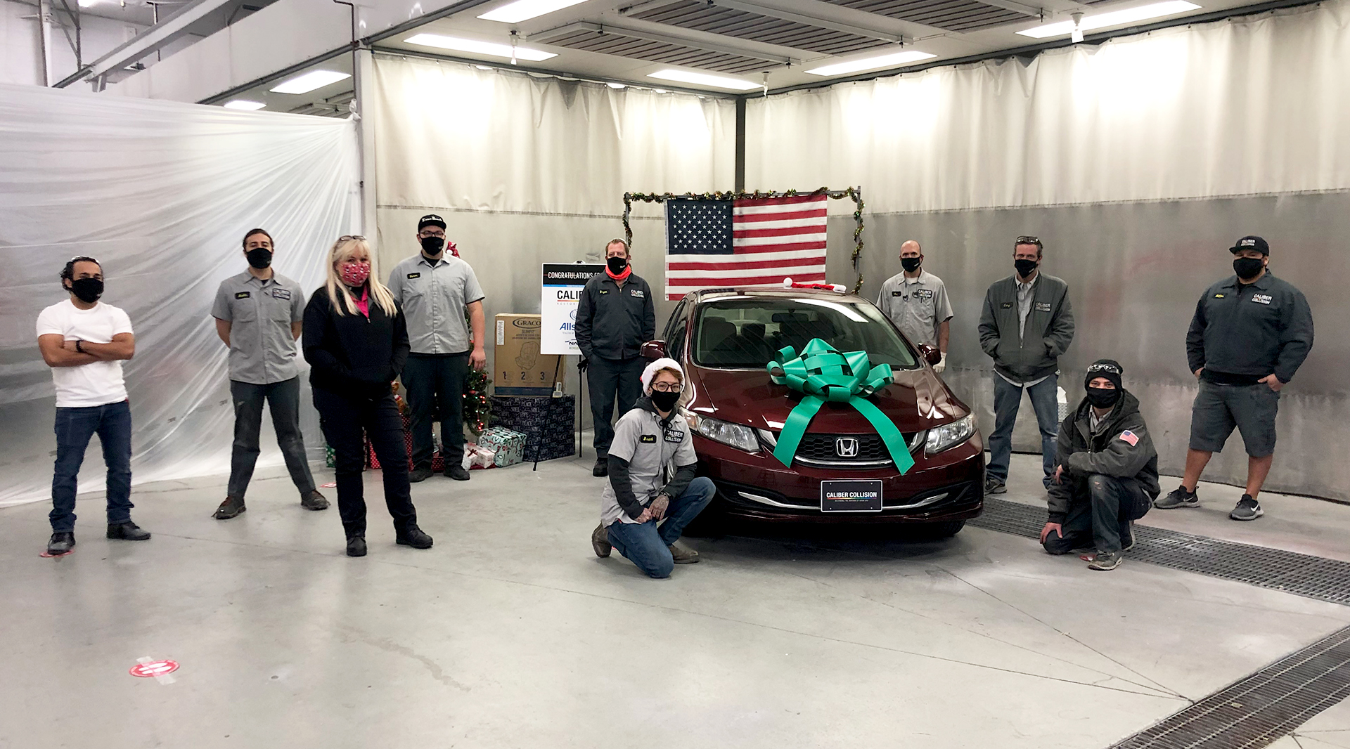 Caliber's Gift Keeps On Giving: Army Veteran Receives New Ride landscape